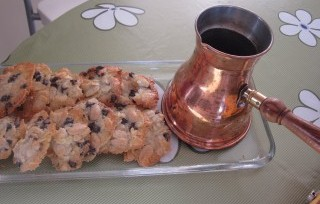 cooking in israel, almond cookies, israeli recipes
