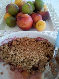 cooking in israel, fruits desserts