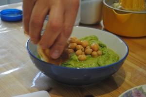 cooking class tel aviv, hummus