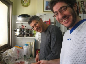 cooking in Israel, Tel Aviv