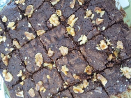 cooking in Israel, Passover recipes, passover brownies
